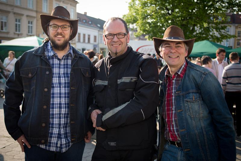 Roman Pertl, Johannes Ehn und Alfred Pertl (Foto von Christian Sturm)