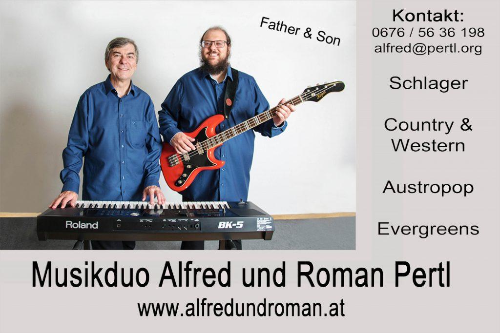Alfred und Roman - die Evergreen BAND