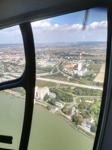 Hubschrauberrundflug über Korneuburg