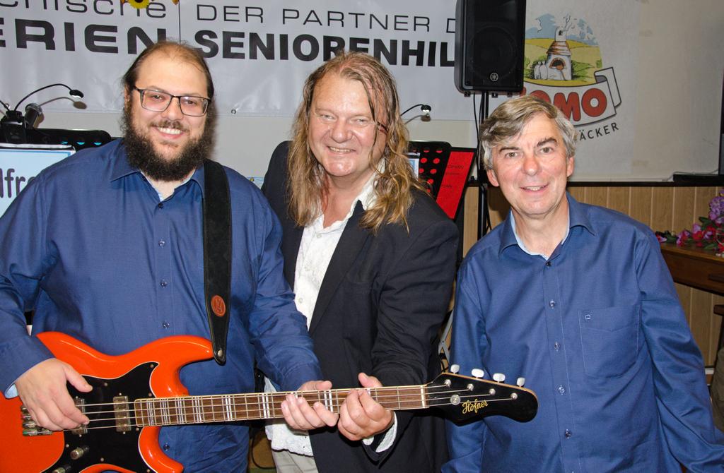 Roman Pertl, Manfred Mikysek und Alfred Pertl